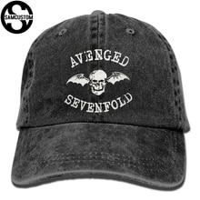 SAMCUSTOM Avenged Sevenfold 3D Творческая личность промывают джинсовые шапки осень лето для мужчин женщин Гольф Солнцезащитный Крем Хоккей шапки