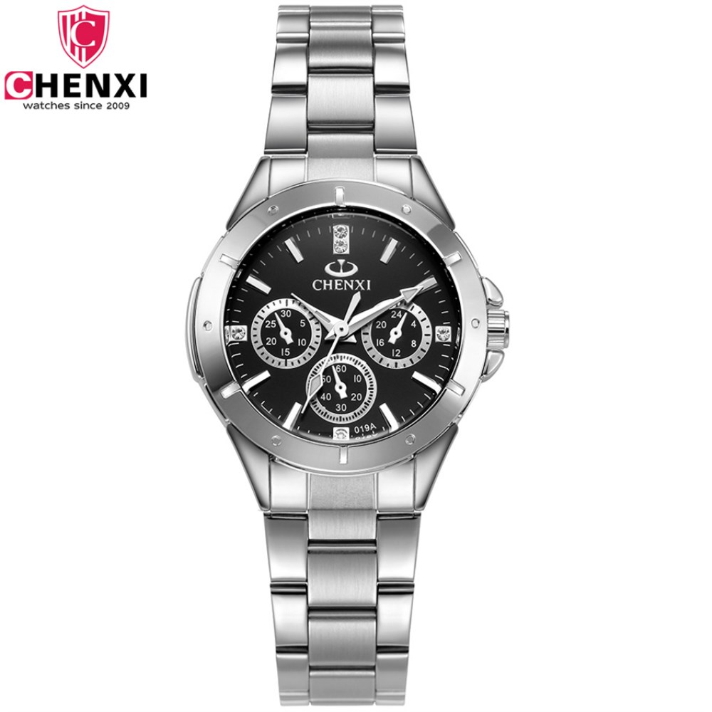 CHENXI Luxury Women Brand Watches Fashion Rhinestone Dress Quartz watch Business Ladies Wrist watches for Women relogio feminino relogio feminino sinobi watches women fashion leather strap japan quartz wrist watch for women ladies luxury brand wristwatch