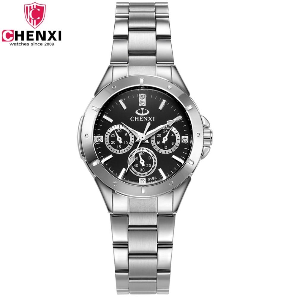 CHENXI Luxury Women Brand Watches Fashion Rhinestone Dress Quartz watch Business Ladies Wrist watches for Women relogio feminino