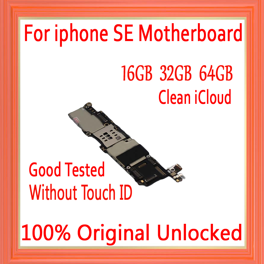 16gb / 32gb / 64gb for iphone 5SE Motherboard without Touch ID,100% Original unlocked for iphone 5SE Mainboard,Free Shipping16gb / 32gb / 64gb for iphone 5SE Motherboard without Touch ID,100% Original unlocked for iphone 5SE Mainboard,Free Shipping