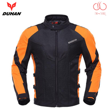 DUHAN Motorcycle Jacket Summer motorbike men women racing jacket breathable motocross jackets with 7 protection pads D183pro