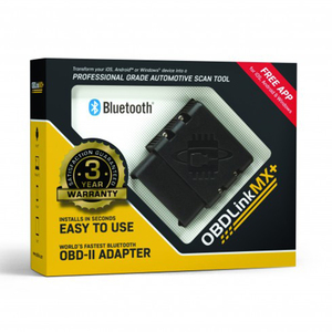 OBDLink MX PLUS OBD2 Scanner Diagnostic Scan Tool for iOS Android, Kindle Fire or Windows Device