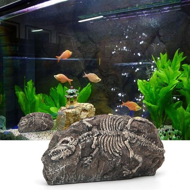 Aquarium De Fossiles De Dinosaures Grotte De Résine Fish Tank