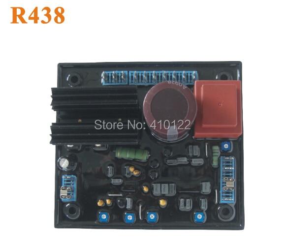 AVR R438 Generator Voltage Regulator Board Power Tool Parts sx460 avr generator voltage regulator board black