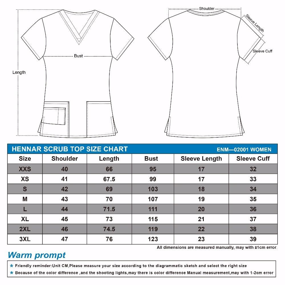 Image 2 - Hennar scrub tops in 100% cotton ,women scrub tops,women medical uniformsscrub topwomens medical uniformsmedical uniforms -