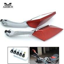 все цены на Motorcycle Accessories For Honda MSX125 MSX 125 PCX 125 150 CBR 600 F4 F4i CB600 HORNET CB650F Side Mirrors Rear View Mirror онлайн