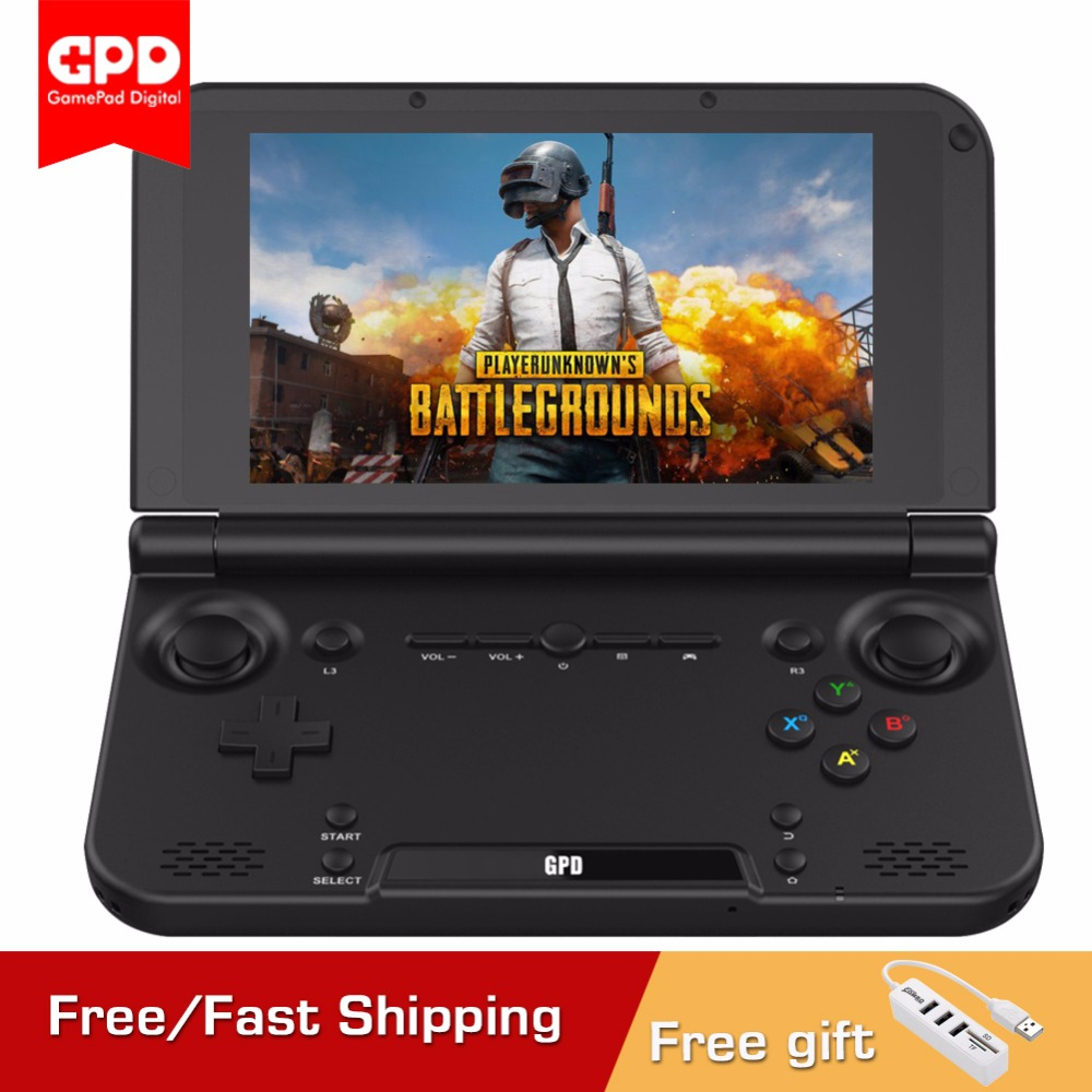 Newest Original GPD XD Plus 5Inch 4 GB/32 GB Bluetooth 1280*720 CPU MT8176 Hexa-core Handheld Gaming Console Laptop Black Onsale