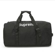 57af31457ed0 Brand Fashion Extra Large Weekend Duffel Bag Large Polyester Business Men s Travel  Bag Popular Design Duffle