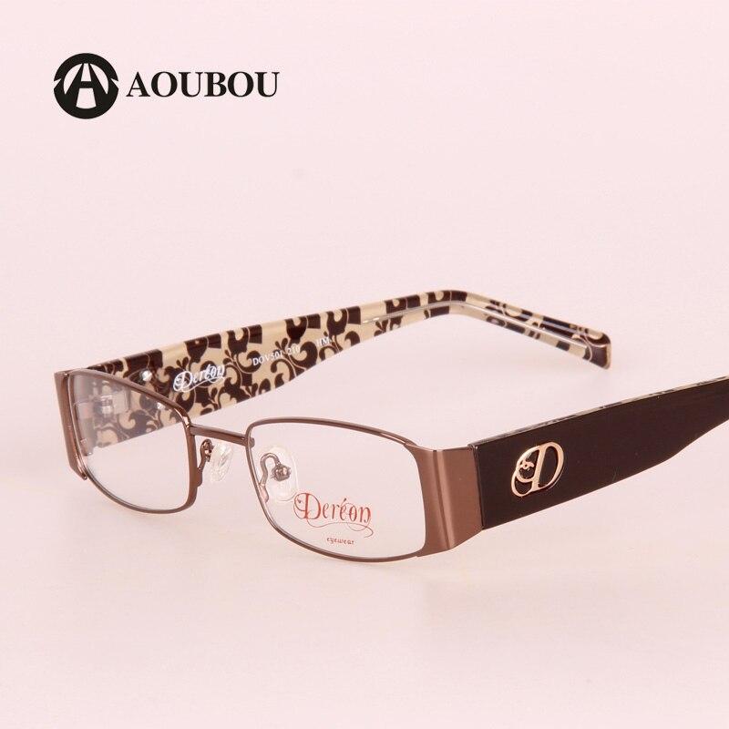 Men's Eyewear Frames Mens Fashion Eyeglass Gold Ultralight Titanium Frames Eye Glasses Frames For Men Optical Frame Thin Leg Half-rimmed Glasses 93