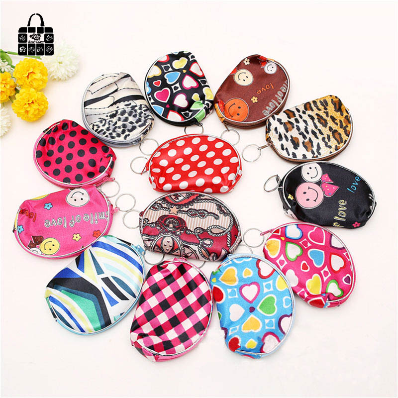 RoseDiary Cute nylon Zero wallet children Clutch lady girl boy zipper Wallet women Pocket Pouch Bag Keys coin bag Case kids gift rosediary cute owls pu leather waterproof zipper coin purse women clutch lady wallet phone pocket pouch bag keys cosmetic holder