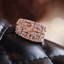 2017 новое поступление блестящие брендовые кольца на палец для