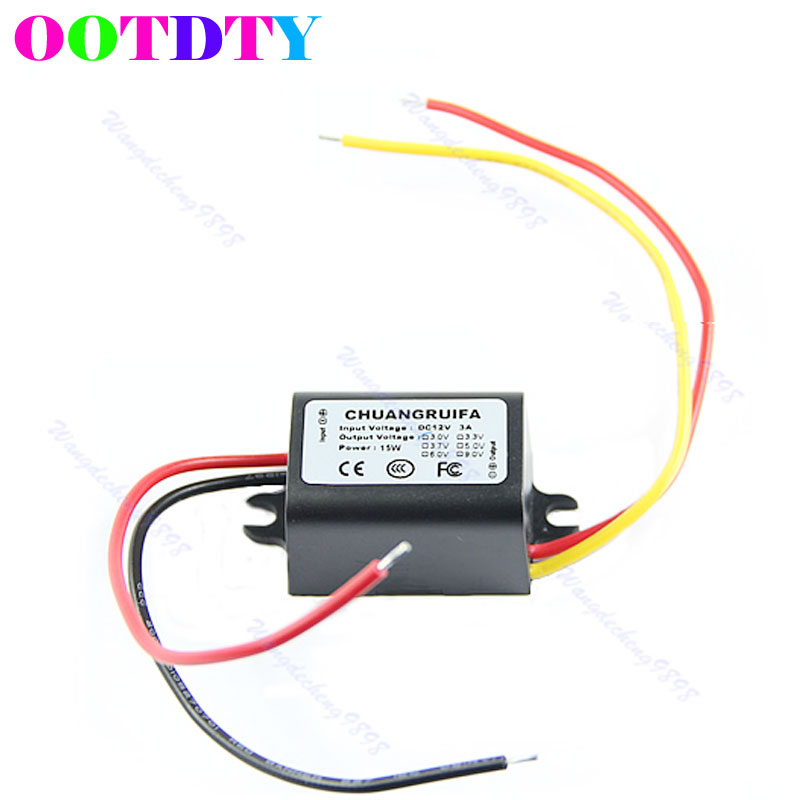 3V 3A 15W Power Supply Module Waterproof DC/DC Converter 12V APR19_35