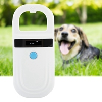Portable ISO FDX B Pet RFID Chip Reader Rechargeable OLED Animal Chip ID Scanner Microchip Scanner Pet Tag Scanner for Dog Cat