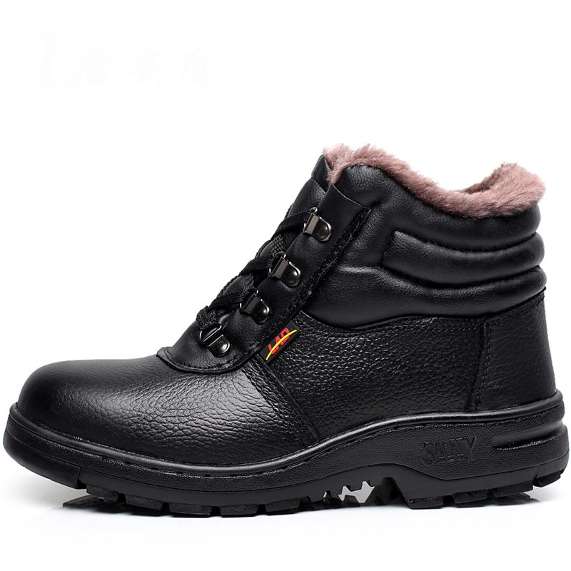 ФОТО 2016 Tactical Waterproof Winter Warm Snow Ankle Boots Women Genuine Leather  Martin High Women Casual Work & Safety Shoes