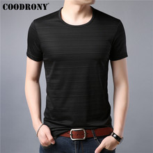 COODRONY Cotton T Shirt Men Short Sleeve T-Shirt Clothing Summer Casual Mens T-Shirts O-Neck Tee Homme Tshirt S95046