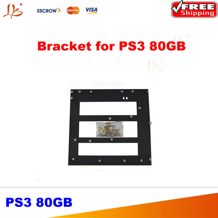 PS3 80GB clamp support bracket jig for bga reballing best hot selling for ps3 slim jig clamp bracket support for ps3 pcb board free shopping
