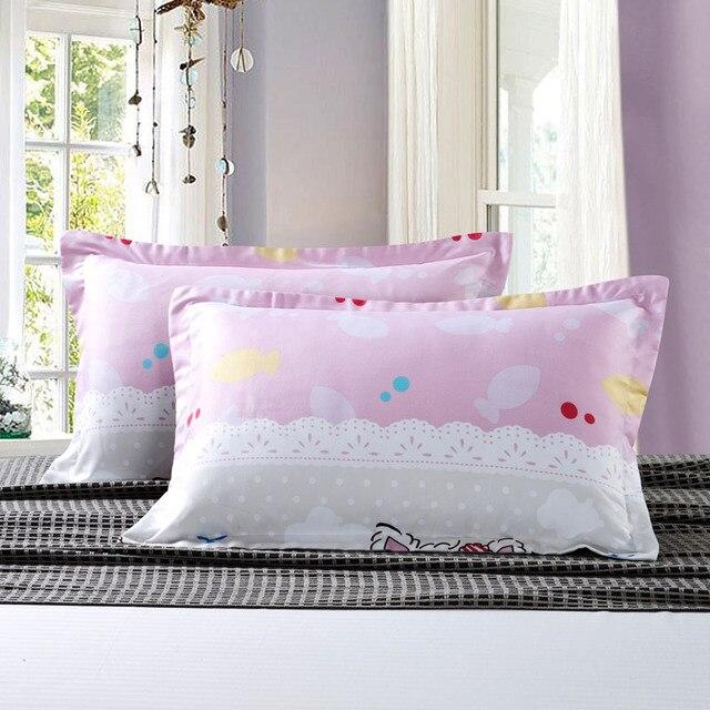 Moderne Kissenbezüge 2 teile satz rosa baumwolle dekorative kissenbezüge moderne