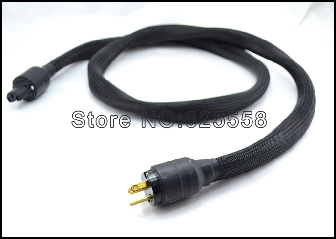 Free shipping 1.8M TARA LABS The One EX / AC audio Power Cable with EU verison connectos plug free shipping tara labs us ac power cable 1 5m pure copper cable with carbon power plugs