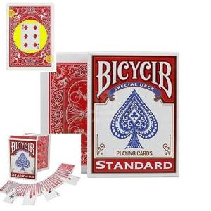 Tricks-Props Stripper-Deck Playing-Cards Marked Poker-Size Street Magic Close-Up Child