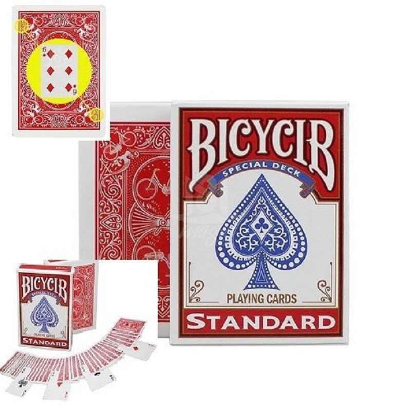 Gratis Verzending Magic Kaarten Gemarkeerd Stripper Deck Speelkaarten Poker Size Close-Up Straat Goocheltrucs Props Kid Kind puzzel Speelgoed