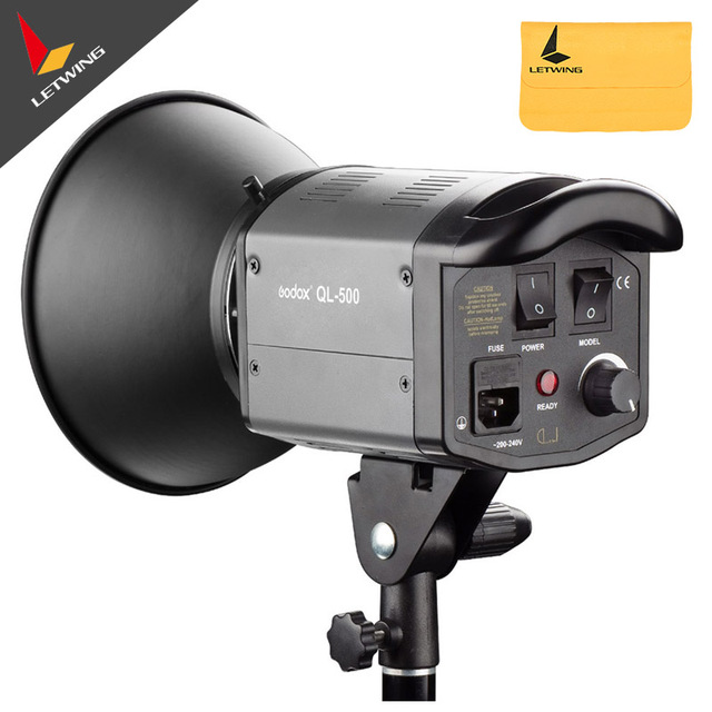 Godox Quartz Light QL 500 Photo Pro Flash Studio Video Light