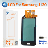Super AMOLED LCD Display Screen for Samsung Galaxy J120 J1 2016 SM J120M/DS J120H J120F LCD Touch Digitizer Assembly Pantalla
