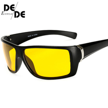 Night Vision Glasses For Headlight Polarized Driving Sunglasses Yellow Lens UV400 Eyewear