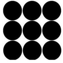 pvc Round mini 300pcs  Chalkboard Labels - Blackboard Stickers