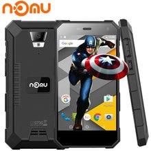 Nomu S10 Smartphone de 5 Pulgadas HD 2 GB RAM 16 GB ROM MTK6737T Android 6.0 Quad Core 1280×720 8MP 5000 mAh IP68 Impermeable Teléfono Celular