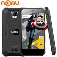 Nomu S10 Smartphone de 5 Pulgadas HD 2 GB RAM 16 GB ROM MTK6737T Android 6.0 Quad Core 1280x720 8MP 5000 mAh IP68 Impermeable Teléfono Celular