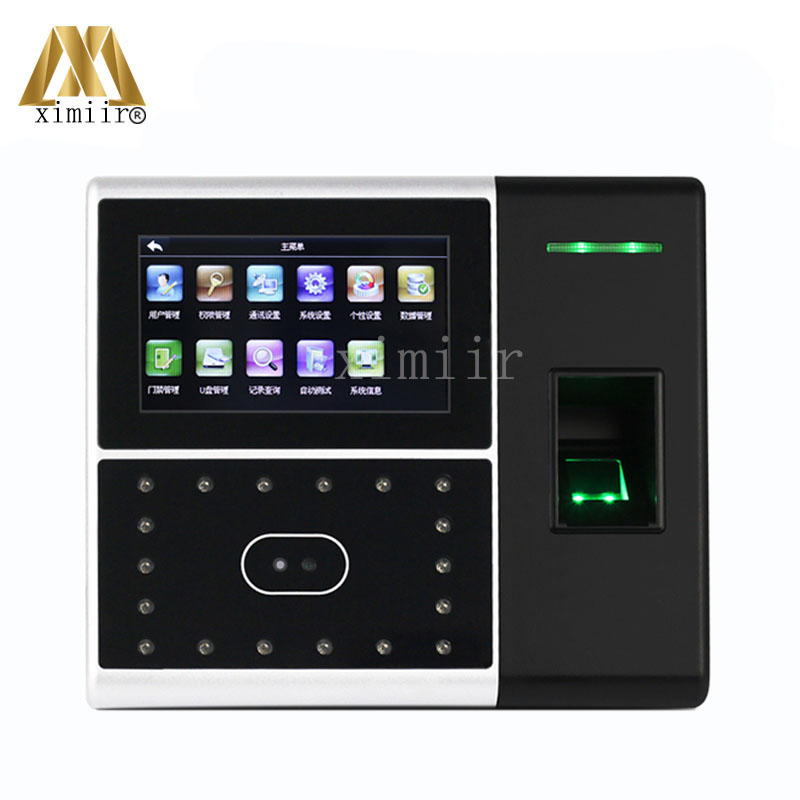 Standalone GPRS Ccommunication Iface302-H Face Time Attendance Touch Screen Access Control System Facial Sensor Time Attendance