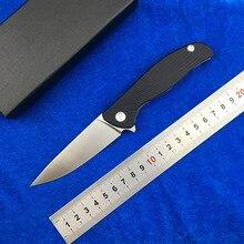 LEMIFSHE HATI LOW VERSION D2 blade G10 handle Flipper folding knife Outdoor camping hunting pocket knives EDC tools Survival цены