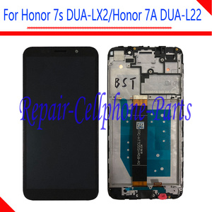 Image 2 - New Full LCD DIsplay + Touch Screen Digitizer Assembly With Frame For Huawei Honor 7S DUA LX2 / Honor 7A ( 5.45 inch ) DUA L22