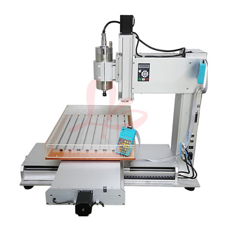 Column Type 3 Axis CNC 6040 Engraving Machine 1.5KW / 2.2KW CNC Router Milling Machine cnc 5 axis a aixs rotary axis plate type disc type for cnc milling machine