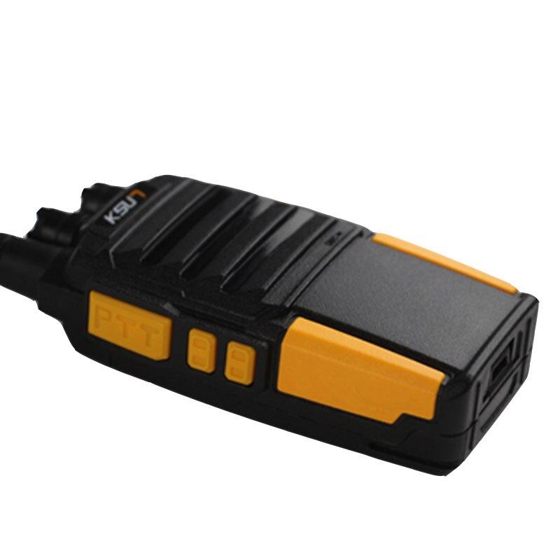 Купить с кэшбэком 1PCS KSUN X-35TFSI High Pressure Version Walkie Talkie 8W Dual Band Two Way Radio Portable Radio UHF400-480MHz CB Radio