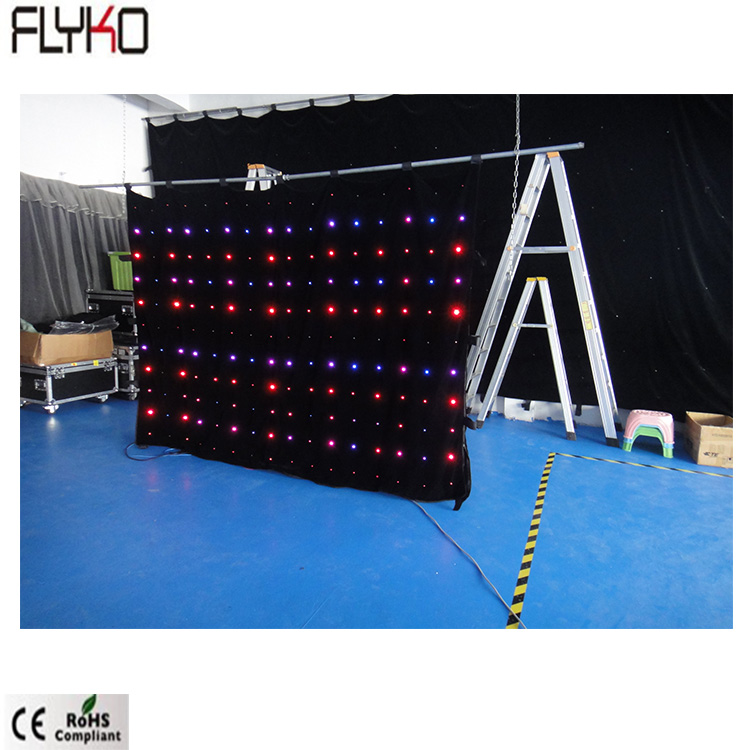 Big commercial facade advertising led curtain wall xxx photos P18cm 2x3m SD/PC control DMX for stage light Disco entertainment|Stage Lighting Effect|   - title=