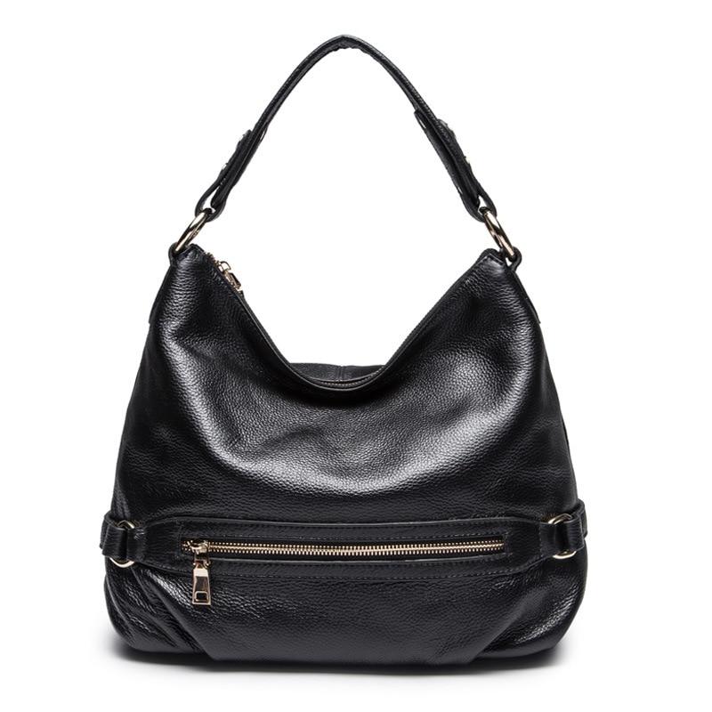 Women\\'S Genuine Leather Handbags Luxury Bucket Women Messenger Bags Shoulder Bag Cow Leather Tote Bag