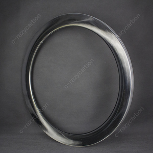 Image 2 - 2019 OEM Brilliant Paintless UD Glossy Mirror Surface Carbon T700C Road Rims Tubular/Clincher Road Disc Brake