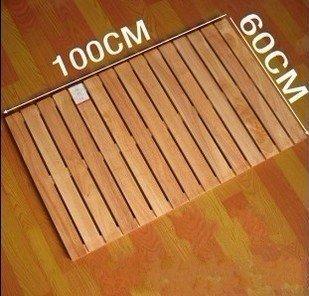 Large rubber wood shower room wood shower mats, shower mats, shower ...