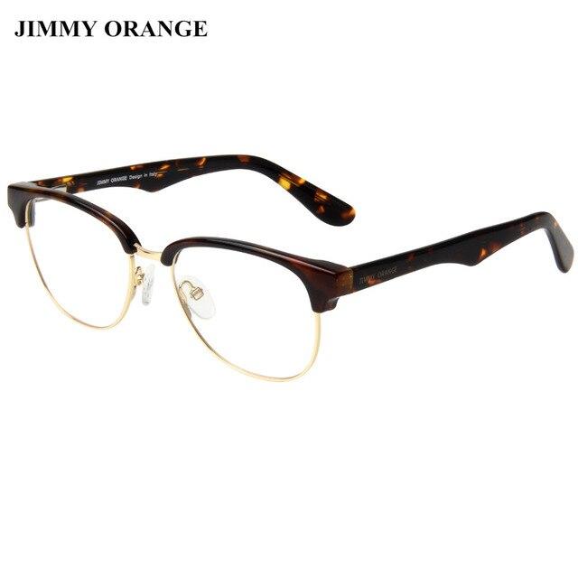 JIMMY ORANGE Clubmaster Oval Gaming Glasses Women Men Fashion ...