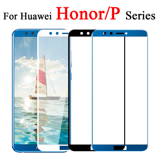 Protective Glass On the Honor 8 9 10 Light For Huawei P8 P9 P10 P20 Lite 2017 honer tempered huawey honnor screen protector P 20