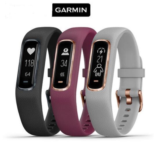 D'origine montre GPS Garmin vivosmart 4 Moniteur de Fréquence Cardiaque pulse sang d'oxygène montre Smart watch Soutien De Sports Multiples Modes femmes