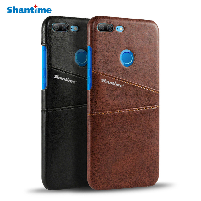 timeless design d53b8 22a5b Vintage PU Leather Case Card Slot Case For Huawei Honor 9 Lite Case Leather  Back Cover For Huawei Honor 9 Lite Business Case
