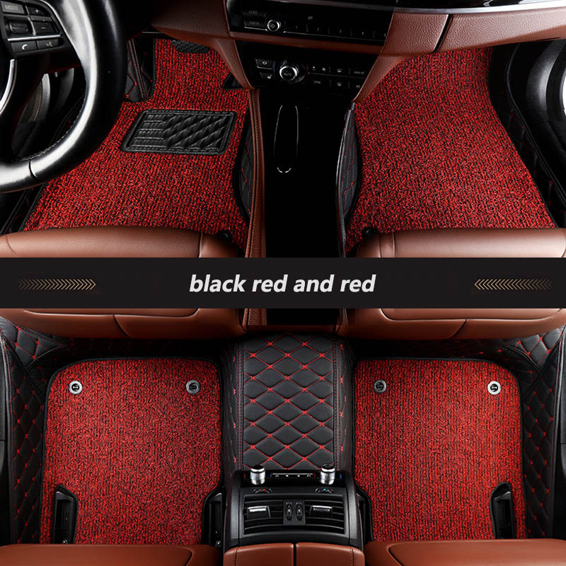 kalaisike Custom car floor mats for Jeep All Models Grand Cherokee renegade Commander Wrangler patriot compass