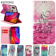 KDTONG Case sFor Coque Xiaomi Mi 8 Case Luxury Flip Stand Wallet Card Leather Cover Fundas For Xiaomi Mi 8 Mi8 Case Cover Capa leather case for xiaomi mi pad 4 mipad4 8 inch tablet case stand support for xiaomi mi pad4 mipad 4 8 0 case cover two style