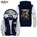 The Walking Dead   hoodie Anime   Hooded Thick Zipper  cardigan Sweatshirts Winter Jackets and Coats