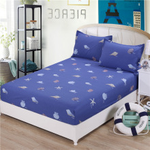 100% Cotton high quality Best Printed Bed Sheet Protective Mattress Cover Fitted with 120*200cm/150*200cm/180*200cm