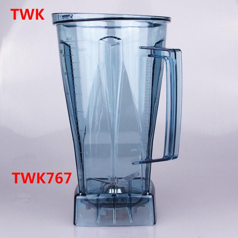TWK 767 TWK 800 767 blender jar 2l cup blender 767 800 Mug for smoothies blender