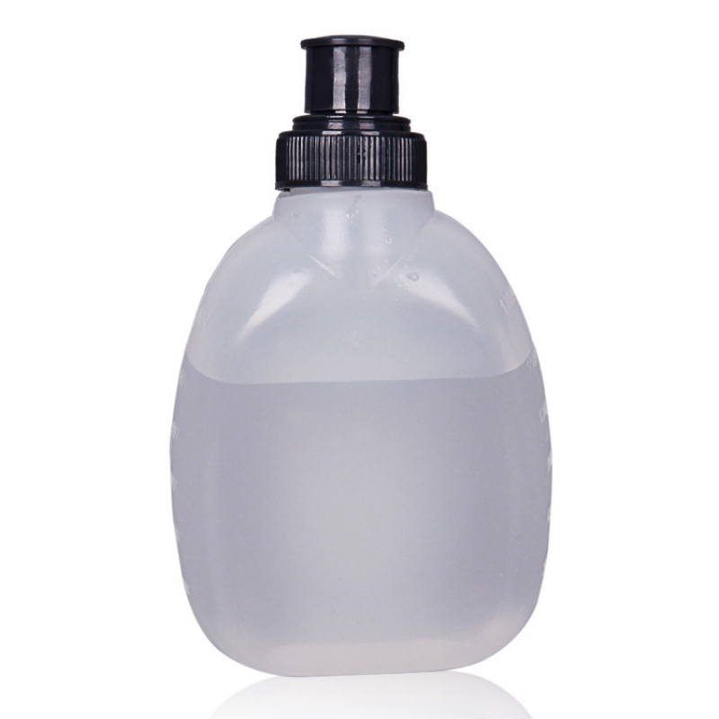 Outdoor Sports Portable Running Durable Soft Water Kettle Cycling Body-Building Mountaineering 170ml Water Bottle