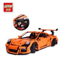 LEPIN 20001 Technic Series Model Building Kits Bricks Blocks Race Car Educational Toys Compatible 42056 For